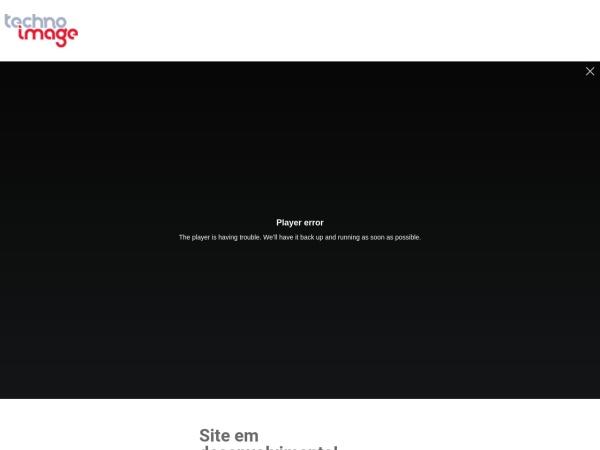 Screenshot of www.technoimage.com.br
