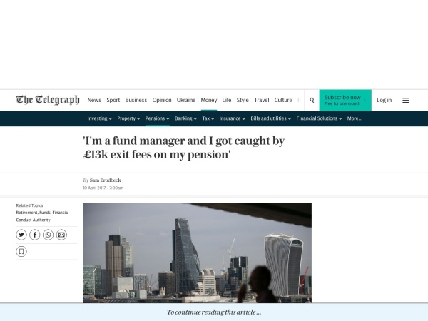 http://www.telegraph.co.uk/pensions-retirement/financial-planning/fund-manager-got-caught-13k-exit-fees-pension/