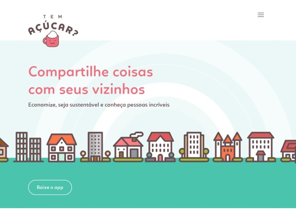Screenshot of www.temacucar.com