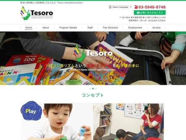 Screenshot of www.tesorointernationalschool.com
