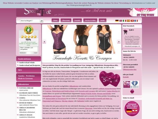 Screenshot von www.tg-superstore.ch