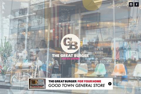 Screenshot of www.the-great-burger.com