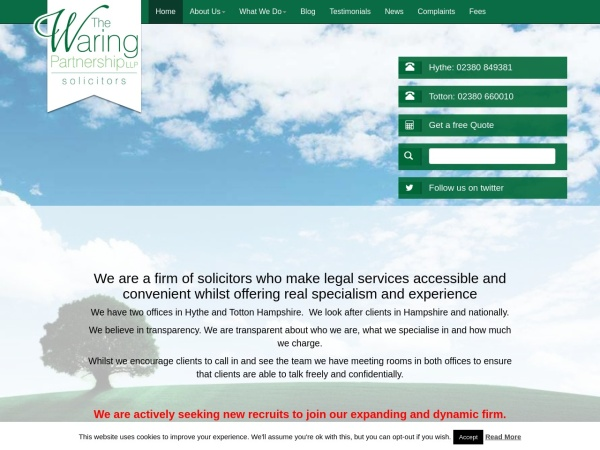 http://www.the-waring-partnership.com