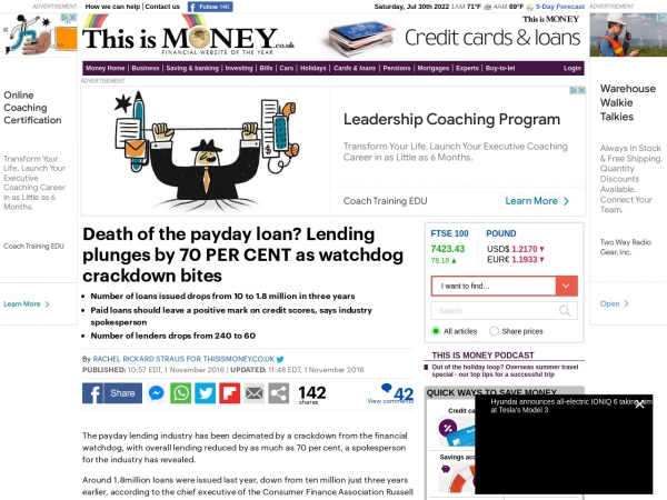 http://www.thisismoney.co.uk/money/cardsloans/article-3893766/Death-payday-loan-Lending-plunges-70-CENT-watchdog-crackdown-bites.html