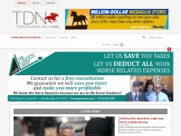 http://www.thoroughbreddailynews.com