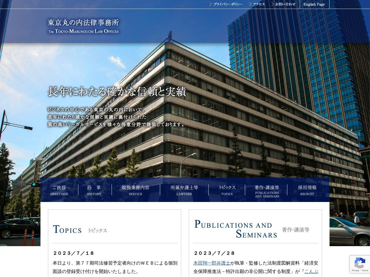 東京丸の内法律事務所/国際部門