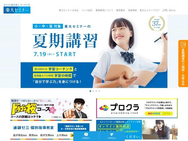 Screenshot of www.tohsemi.com
