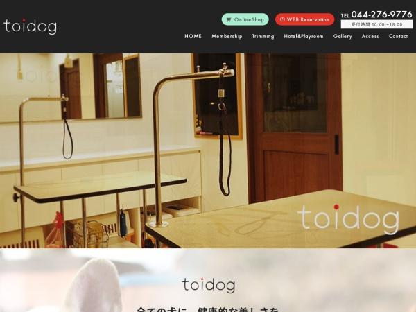 Screenshot of www.toidog.com