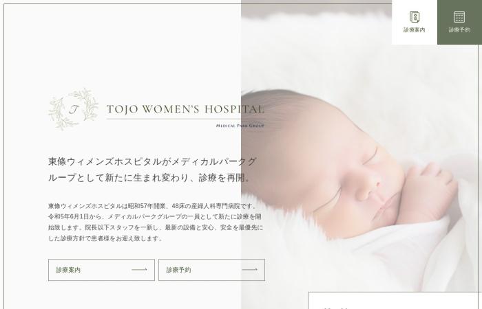 Screenshot of www.tojowomens.com