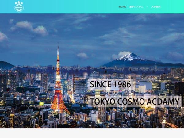Screenshot of www.tokyo-cosmo.com