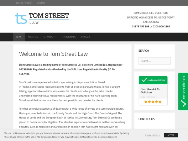 http://www.tomstreet.co.uk