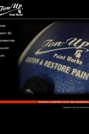 Screenshot of www.ton-uppaintworks.com
