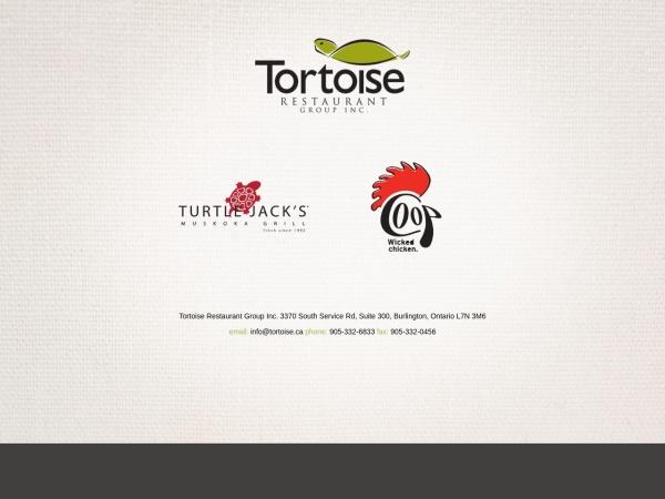 Screenshot of www.tortoise.ca