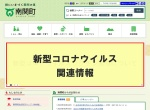 Screenshot of www.town.nankan.lg.jp