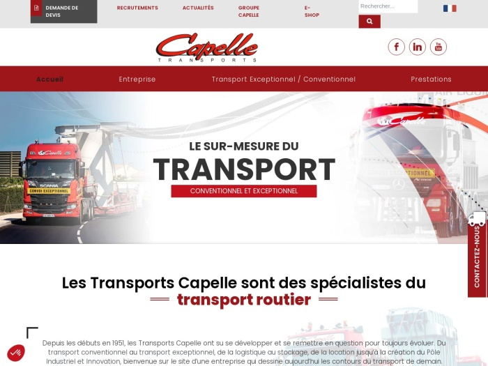 http://www.transports-capelle.fr