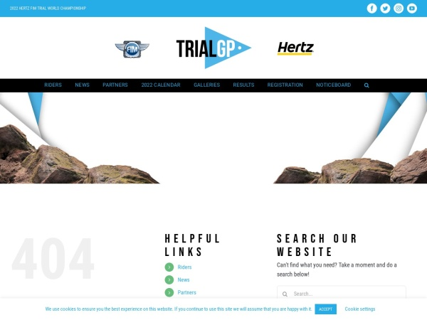 Screenshot of www.trialgp.com
