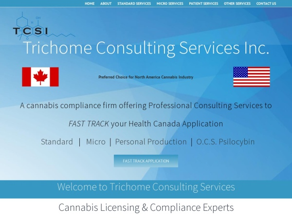 Screenshot of www.trichomeconsultingservices.com