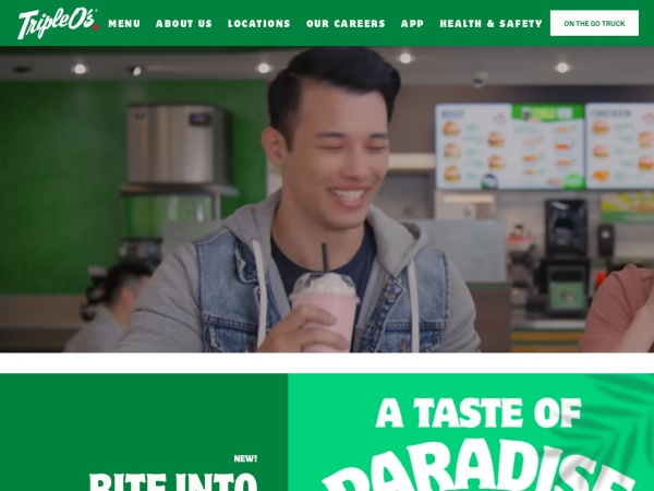 Screenshot of www.tripleos.com