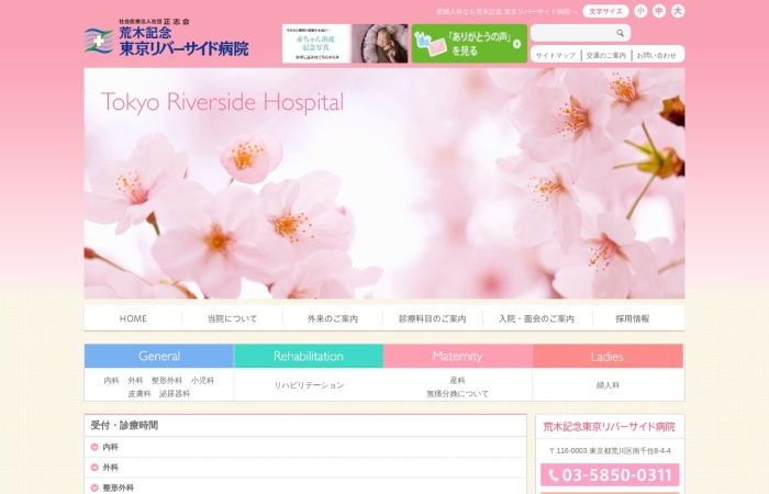 Screenshot of www.trshp.jp