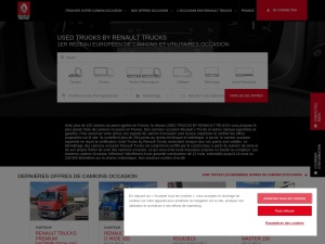 Truckplus camions et véhicules d'occasions