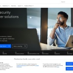 Screenshot of www.trusteer.com