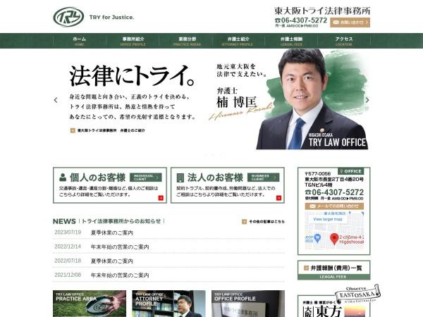 Screenshot of www.try-law.com
