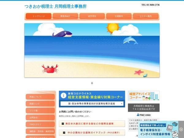 Screenshot of www.tsu-zeirisi-kaikei.com