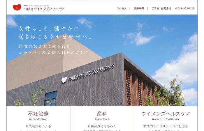 Screenshot of www.tsubaki-wc.com
