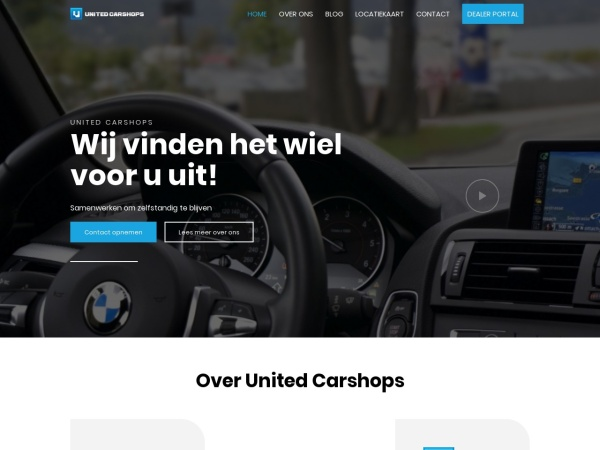 Screenshot of www.unitedcarshops.nl