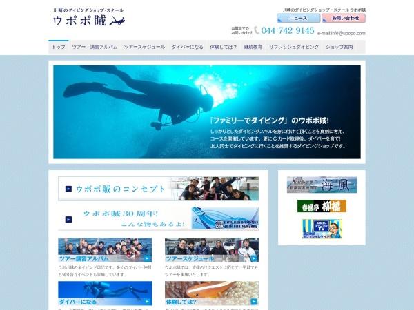 Screenshot of www.upopo.com