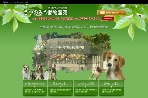 Screenshot of www.utsunomiya-dr.com