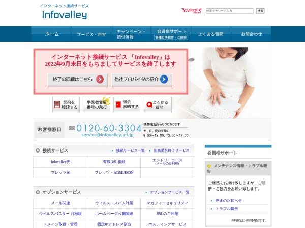 Screenshot of www.valley.ne.jp