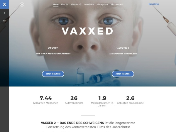Vaxxed - der Film Tour in Deutschland