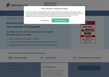 Screenshot of www.vergleich.de