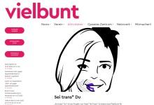 Screenshot of www.vielbunt.org