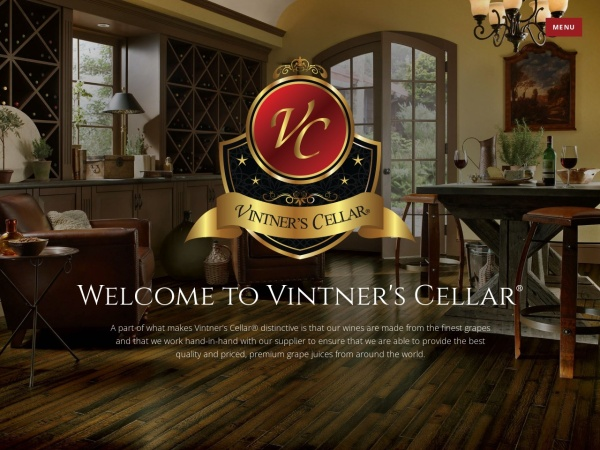 Screenshot of www.vintnerscellar.ca