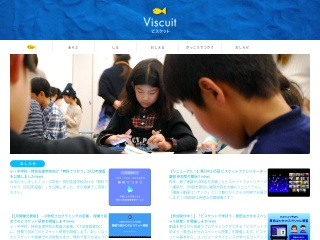 Screenshot of www.viscuit.com