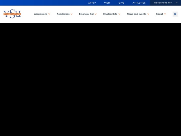 Screenshot of www.vsu.edu
