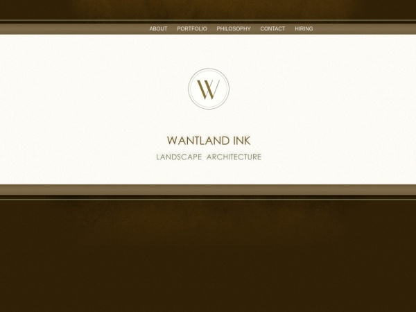 Screenshot of www.wantlandink.com
