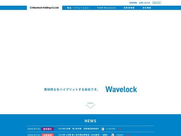 Screenshot of www.wavelock-holdings.com
