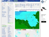 Screenshot of www.weatheronline.co.uk