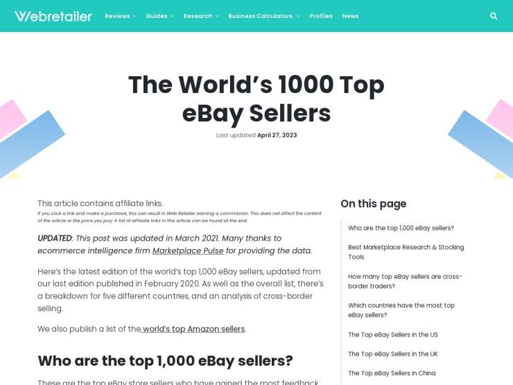 http://www.webretailer.com/lean-commerce/worlds-top-ebay-sellers/