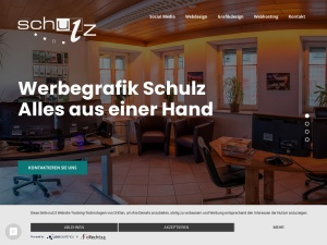 Screenshot of www.werbegrafik-schulz.de