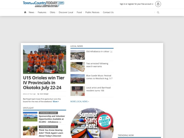 Screenshot of www.westlocknews.com
