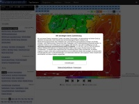 Screenshot of www.wetterzentrale.de