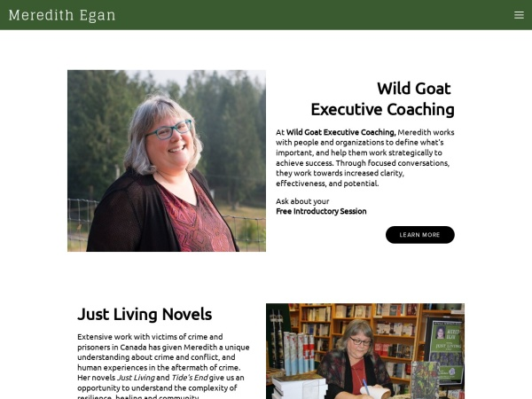 Screenshot of www.wildgoatcoaching.ca