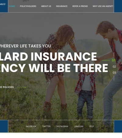 Screenshot of www.willardinsurance.org