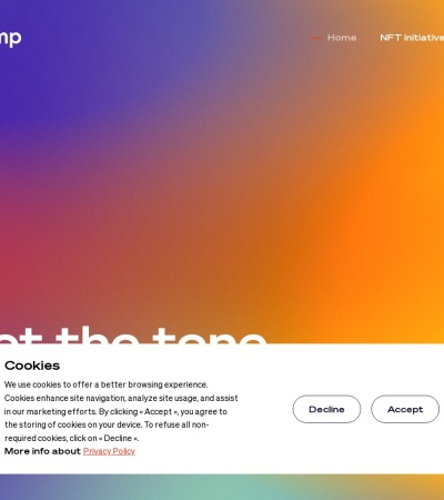 Screenshot of www.winamp.com