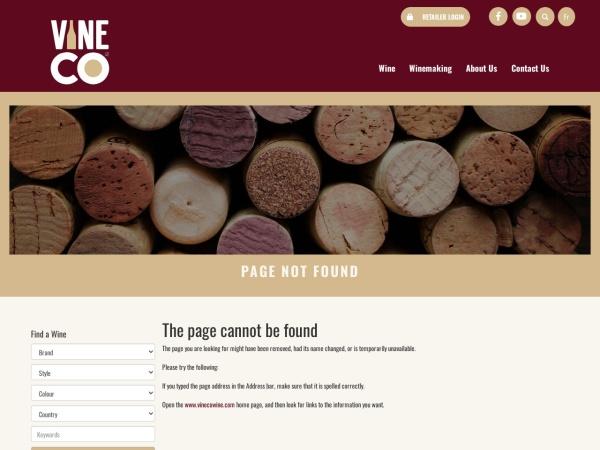 Screenshot of www.winekitz.com