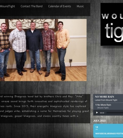 Screenshot of www.woundtightband.com